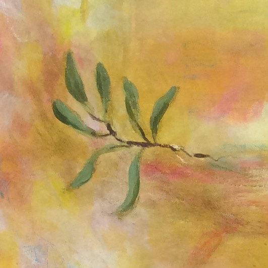 Olivenzweig Detail Vera Briggs