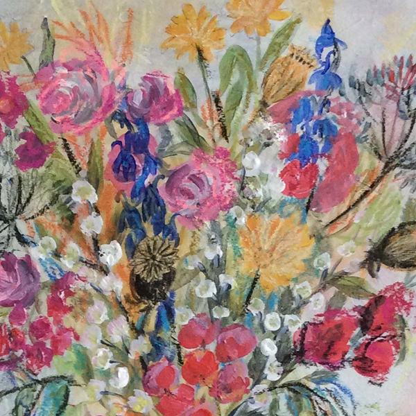 Sommerblumen III Detail Vera Briggs