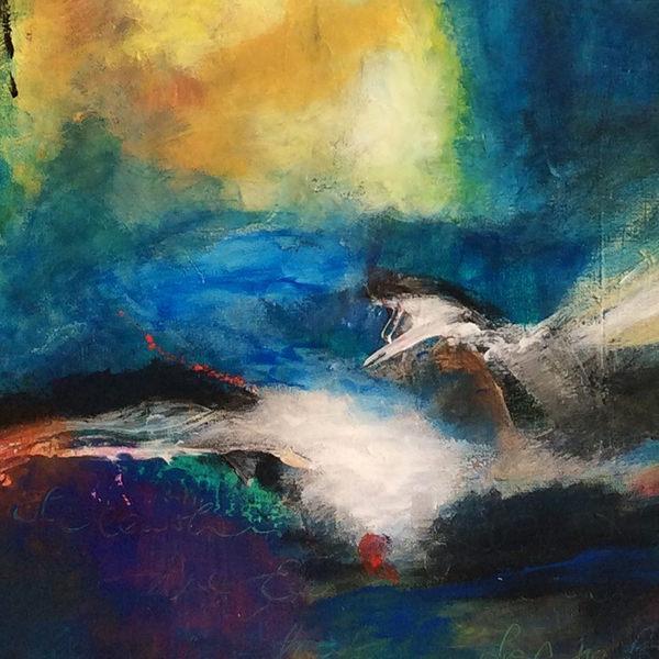 Lebendiges Wasser II Detail Vera Briggs